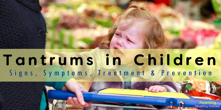 tantrums in children