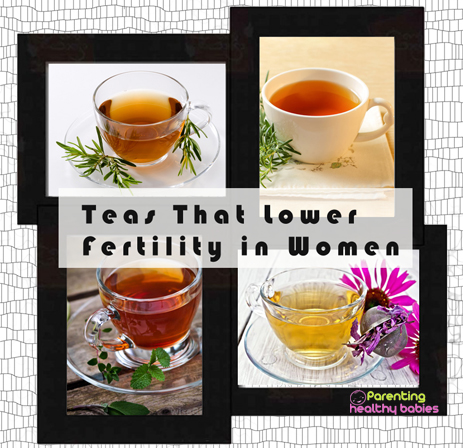 teas that lower fertility