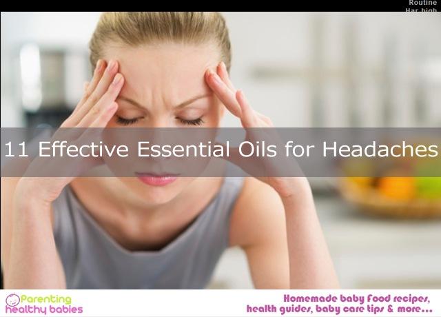 Oils for Headaches