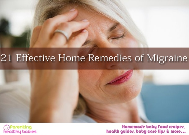 Remedies of Migraine