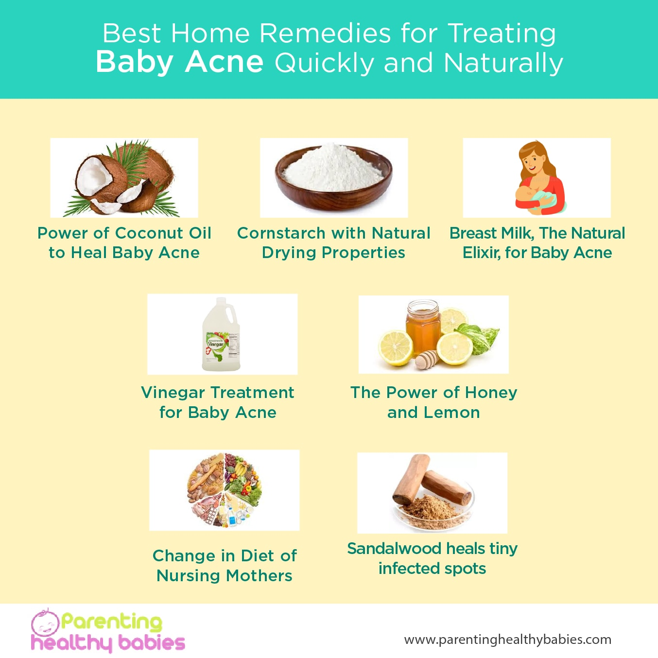 Ultimate Guide For Treating Baby Acne Naturally Home Remedies