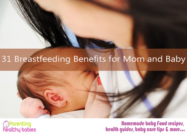 breastfeeding benefts