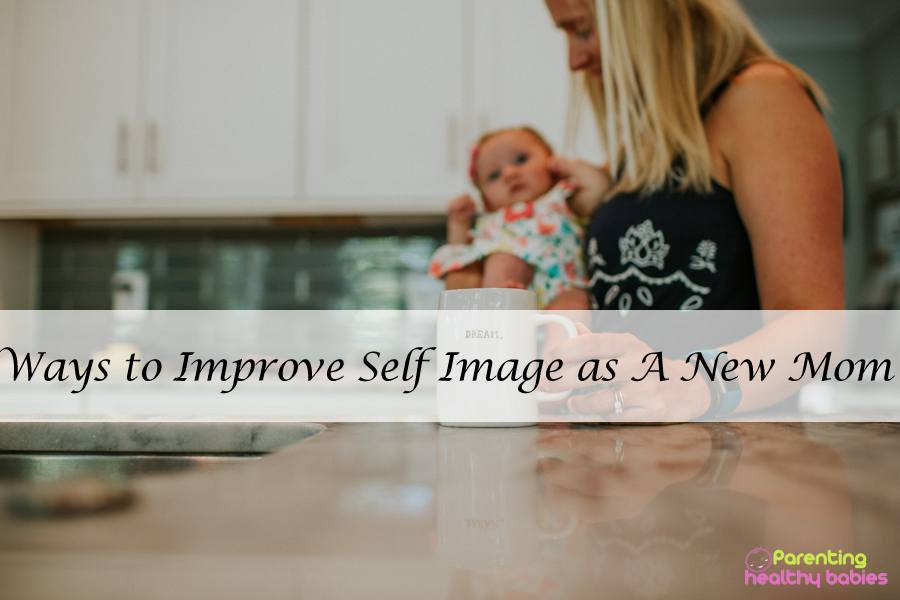 new mom self image