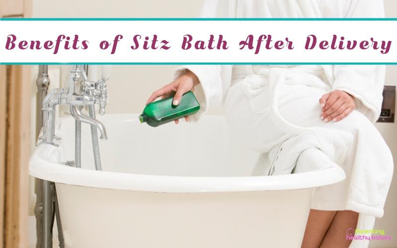 sitz bath benefits for new mom