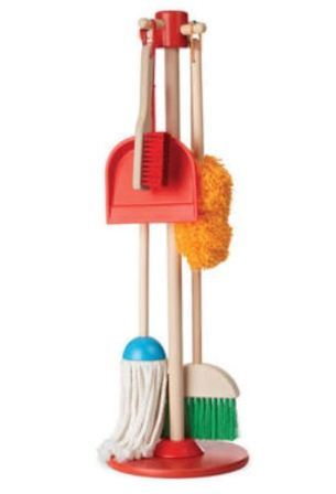 Melissa and Doug Dust, Sweep and Mop Toy Set