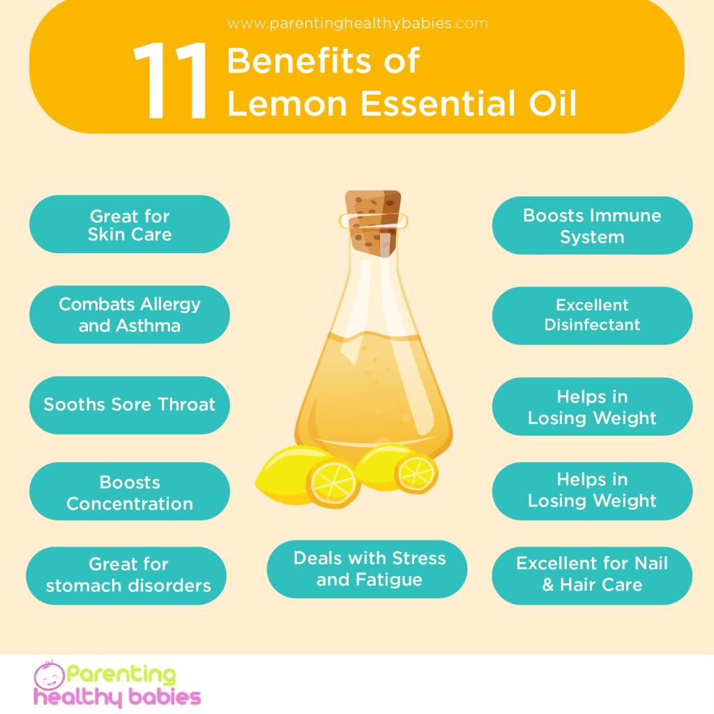 11 Benefits of lemon oil