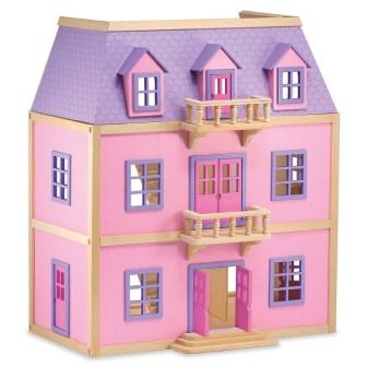 A wooden Doll House