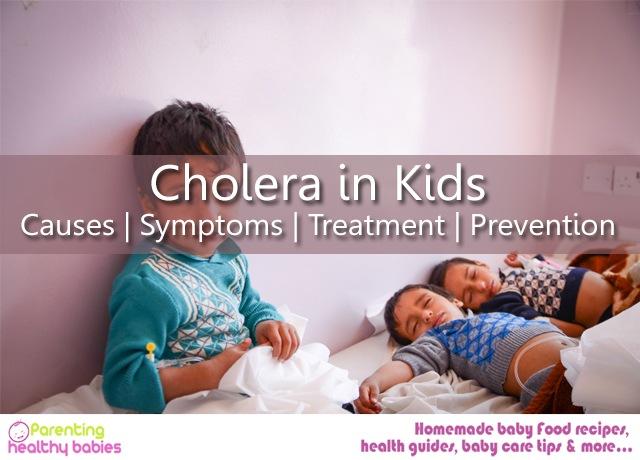 Cholera in Kids