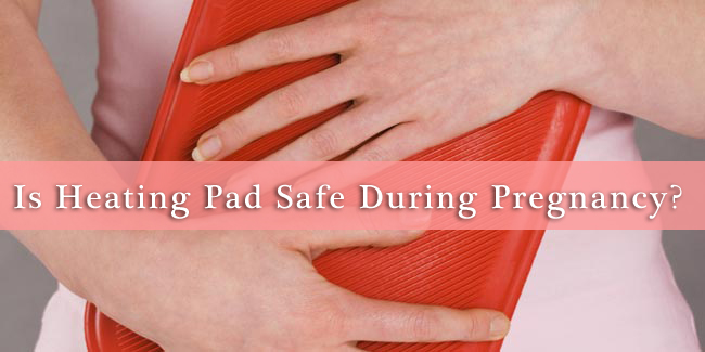 heating pads during pregnancy