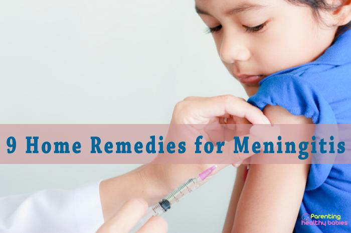 meningitis home remedies