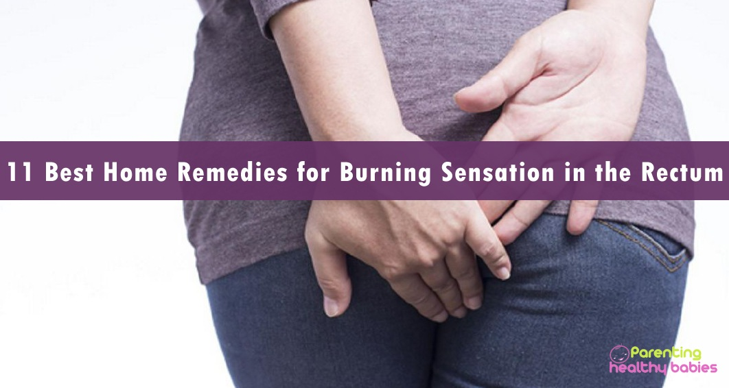remedies for burning sensation in rectum
