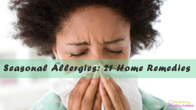seasonal allergies remedies