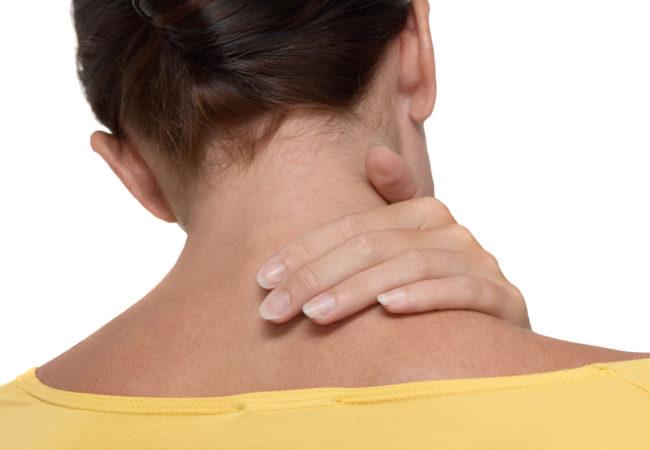 stiff neck prevention