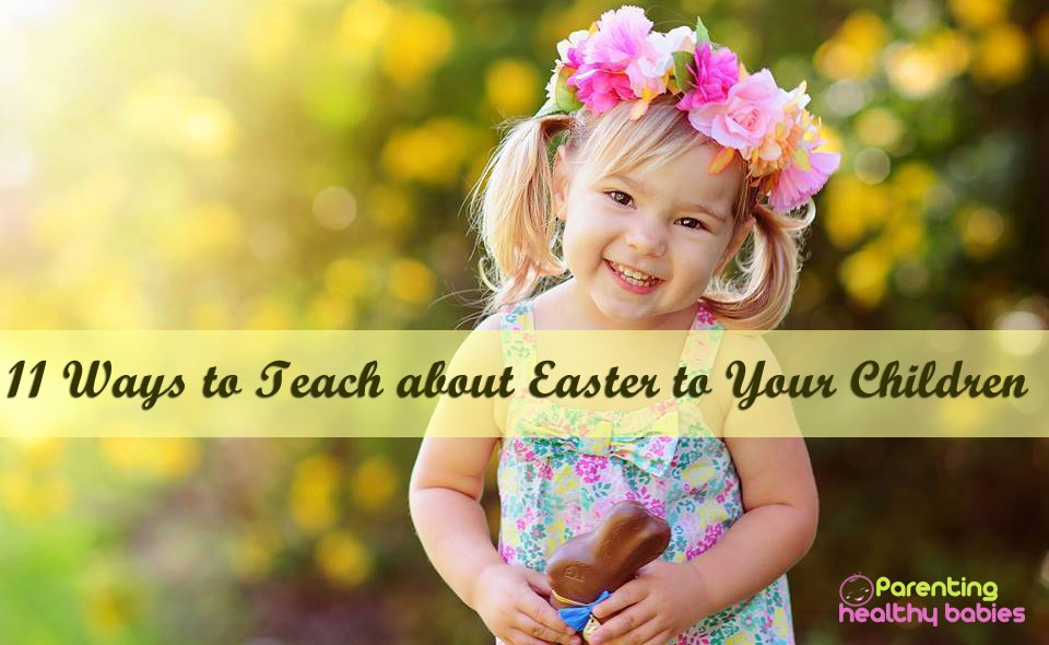 teaching easter to kids