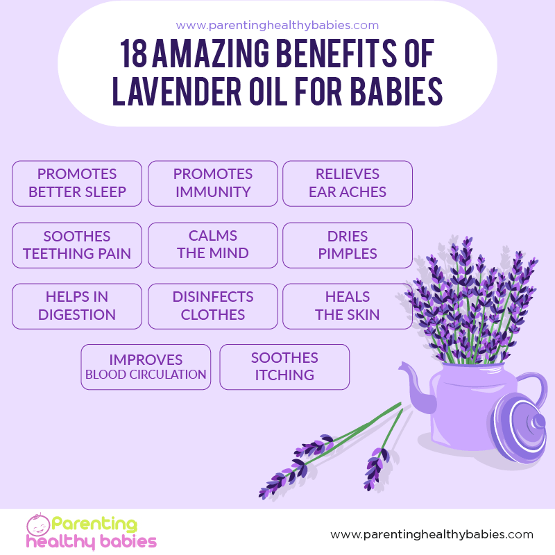 18 Amazing Benefits of Lavender Oil for Babies