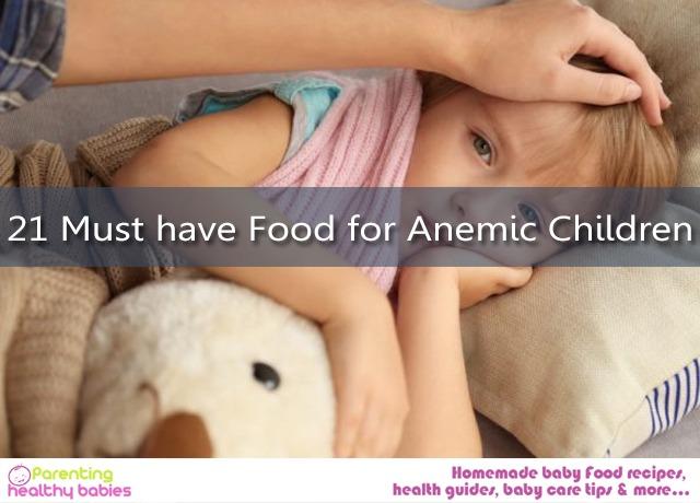 Anemic Children