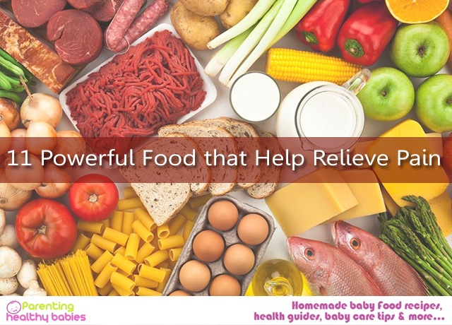 Relieve Pain food