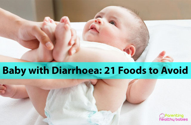 baby with diarrhoea