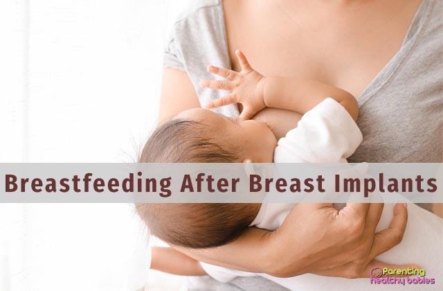 breastfeeding after breast implants