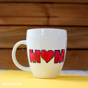 cup gift with message