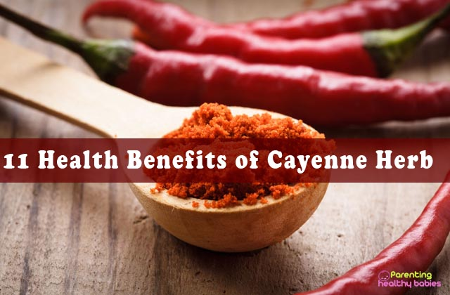 health benefits of cayenne herb
