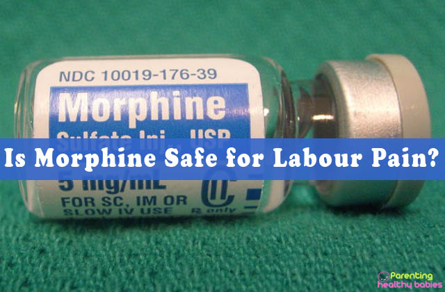 morphine for labour pain