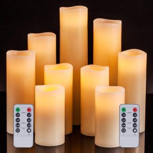 remote control candles