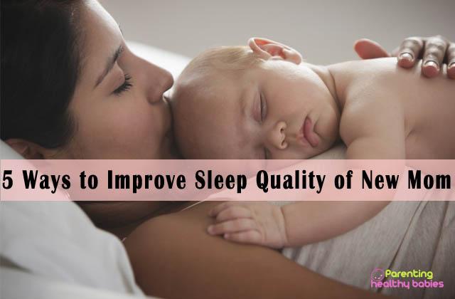 new mom sleep