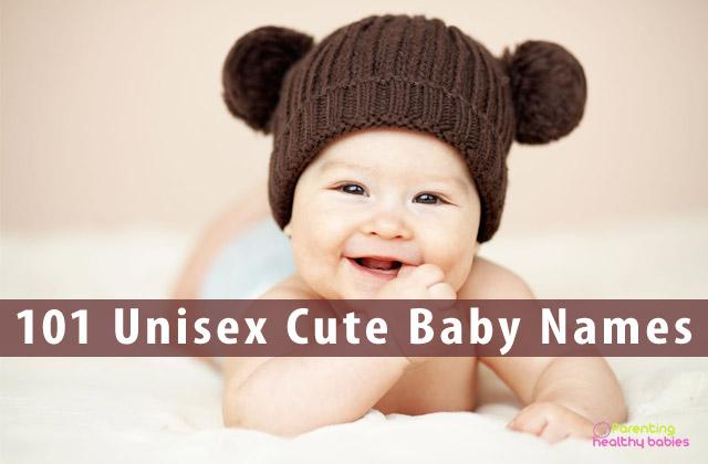 101 cute unisex baby names