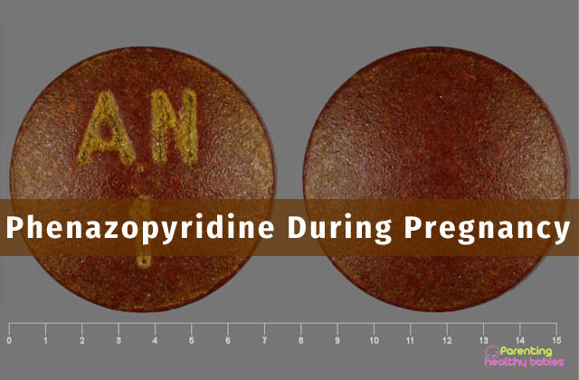 Phenazopyridine during pregnancy
