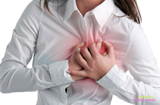angina during pregnancy