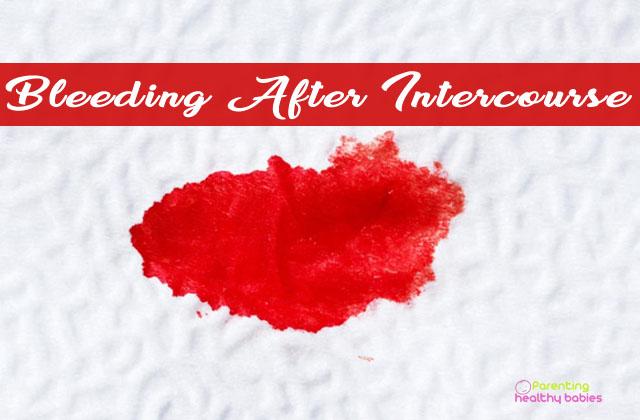 bleeding after intercourse