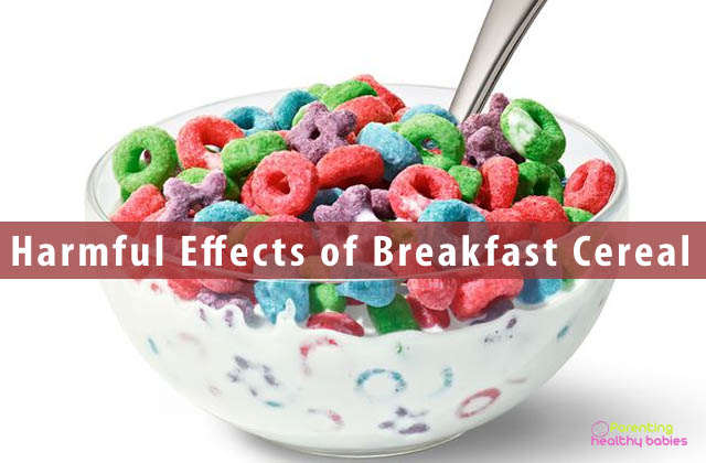 effects of breakfast cereal for kids