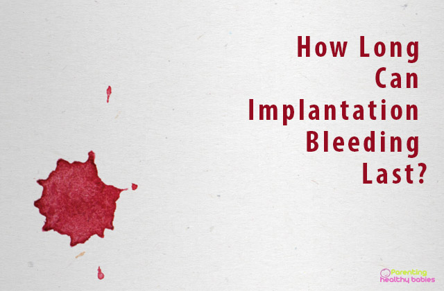 implantation bleeding