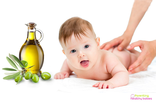 olive oil for baby skin