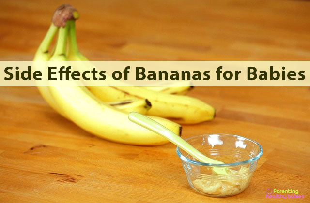 side effects of bananas for babies