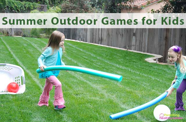 summer outdoor games for kids