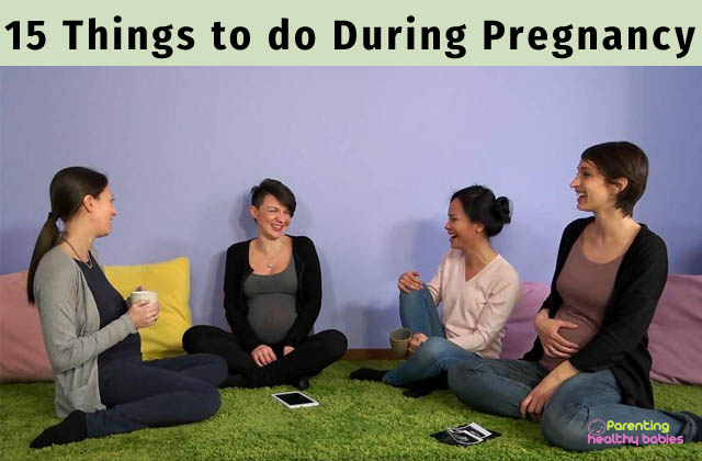 things to do during pregnancy