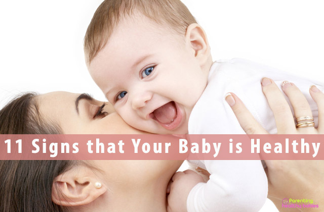11 Signs that Your Baby is Healthy