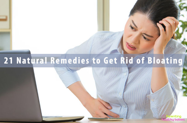 21 Natural Remedies to Get Rid of Bloating