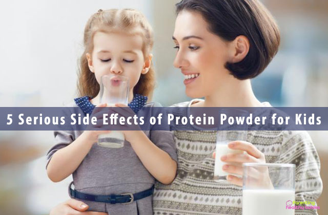 5 Serious Side Effects of Protein Powder for Kids