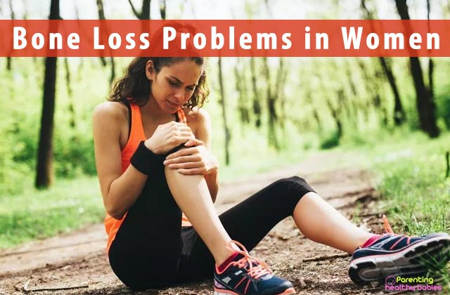 Bone loss problems in women