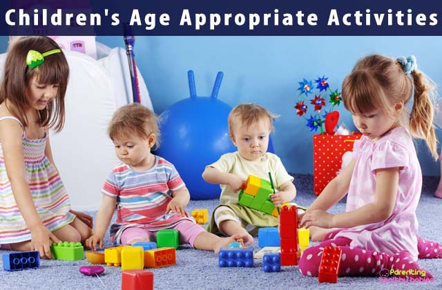 Children's Age Appropriate Activities