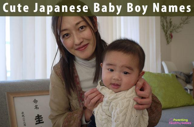 Cute Japanese Baby Boy Names