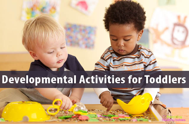 Developmental Activities for Toddlers