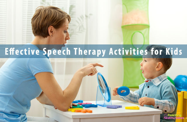 Effective Speech Therapy Activities for Kids