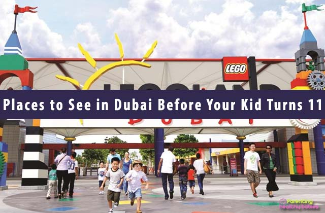 Fun Places to See in Dubai Before Your Kid Turns 11