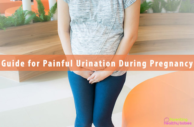 Guide for Painful Urination During Pregnancy