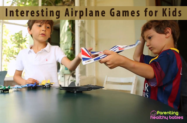 Interesting Airplane Games for Kids