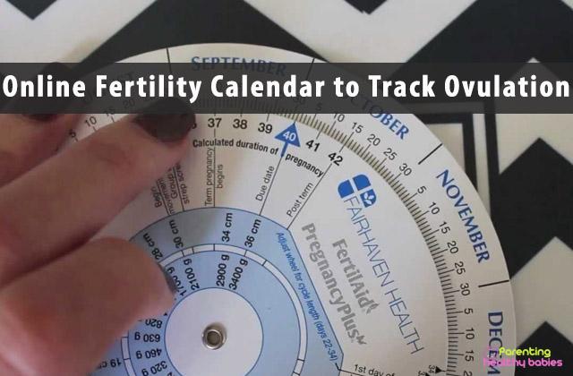 Online Fertility Calendar to Track Ovulation